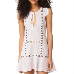 For Love and Lemons Striped Emmy Nightie Dress